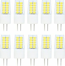 10er Pack G4 LED Lampe Birne Kaltweiss 3W 6000K,