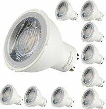 10er Packung - 8W - LED GU10 -650 Lumen- 230V