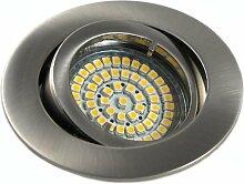10er Set 230Volt LED SMD Einbaustrahler Lino. Spot
