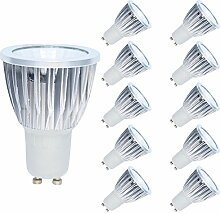 10er Set LED Leuchtmittel Lampe 5W GU10 350lm LED