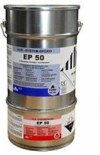10kg Lichtgrau grau RAL7035 Beschichtung Epoxid Epoxi Farbe für den Wandbereich Wandfarbe Wandversiegelung, ca. 40qm, ablaufbeständig