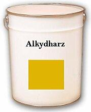 10kg RAL 1023 Verkehrsgelb gelb Alkydharz matt