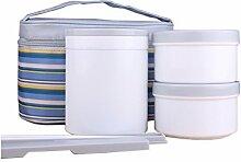10L Lunchboxen Bento Box Brotdose mit Besteck aus