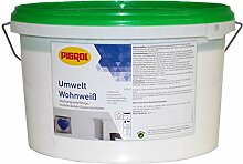 10L Pigrol Umwelt Wohnweiss weiss Wandfarbe