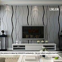 10m 3D Optik Europäische Vliestapete Wand Tapeten Dekoration Wandtapete Unitapete Fototapete für TV Kulisse Wohn und Schlafzimmer
