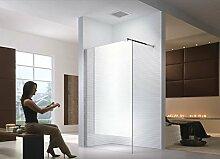 10m Duschwand - Duschabtrennung - Dusche - Walk-In