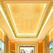 10pcs DIY moderner Acrylplastikspiegel-Aufkleber Ar-hall Schlafzimmer von WINWINTOM (Gold)