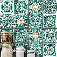 10PCS Self Adhesive, Mosaik-Fliesen-Aufkleber,