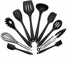 10PCS / SET Umweltverträgliches Silikon Kochen