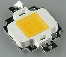 10W Hochleistungs-LED ''EPISTAR'', 1000 Lumen, warmweiß / 3000K
