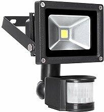 10W LED Strahler Bewegungsmelder Außen Fluter LED