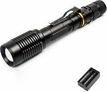 10W LED taktische Taschenlampe, extrem helle