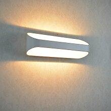 10W LED Wandleuchte Aluminium Wandlampe Lampe