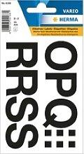 10x 22 HERMA Klebebuchstaben 4188 Buchstaben O-Z