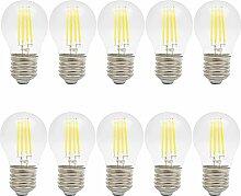 10X 4W E27 LED Lampe Glühbirne Fadenlampe