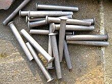 10x 50x 6mm Nieten zur Griffreparatur von