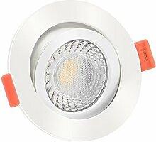 10x dimmbare, 25mm flache Aluminium LED