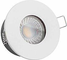10x dimmbare, 35mm flache LISTA AQUA Bad LED