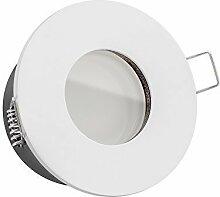 10x dimmbare, ultra flache 35mm LISTA AQUA Bad LED