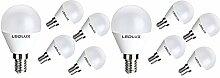 10x E14, LED E14, LED lampe E14, 6W Neutralweiss,