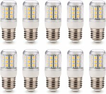 10x E27 30 5050 SMD LED Lampe Strahler 4W Leuchte Leuchtmittel Warmweiß 220V