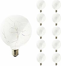 10x G125 3W E27 220V Dekolampe LED Edison Lampe