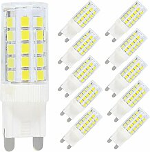 10X G9 Dimmbar LED Lampe Leuchtmittel,5W Ersatz