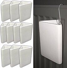 10x Heizkörper Raumbefeuchter Heizung Wasserbehälter Verdampfer Wasserverdunster | Luftbefeuchter