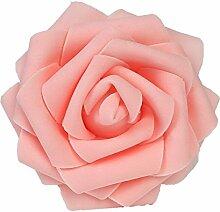 10x künstliche Schaum Rosen, BDM Foamrosen