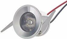 10x LED-Einbaustrahler Minispot Einbauleuchte