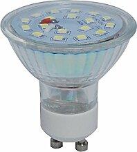 10x LED Spot Lampe ersetzt 50 W GU10