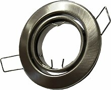 10x Metall Einbaustrahler Einbauspot