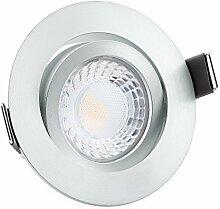 10x ultra flache 25mm LED Einbaustrahler |