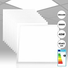 10x Xtend LED Panel 62x62 neutralweiß 5000K 40W