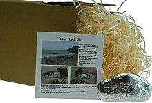 11. Jahrestag You Are My Rock Geschenkidee–massivem Metall schwere poliert Rock Geschenk für 11Jahre Jubiläum