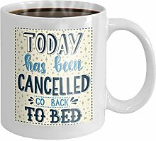 11 oz Coffee Mug today has been cancelled go back