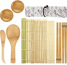 11 Stücke Sushi Herstellung Kit, Beinhaltet Sushi