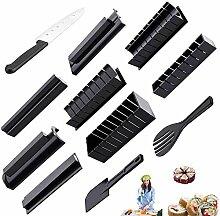 11-teiliges Sushi-Maker-Werkzeug-Set, komplett mit