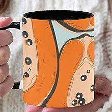 11 Unzen Erwachsene Kaffeetassen Mode Süße