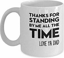 11 Unzen Kaffee-Haferl - Vielen Dank für die