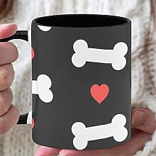 11 Unzen Kaffeetasse Hund Knochen Pfote