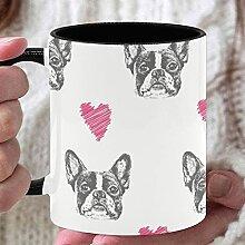 11 Unzen Spaß Kaffeetasse Französisch Bulldog