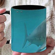 11 Unzen Teebecher Fierce Awful Shark