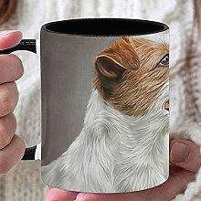 11 Unzen Teebecher Hund Jack Russell Terrier