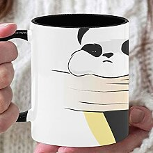 11 Unzen Teebecher Netter chinesischer Panda