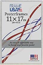 11x 17posterframe, Schaumstoffkern Serie (transparent)