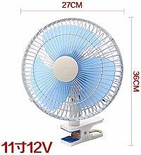 11 Zoll auto Ventilator 24 Big Truck Kühlerventilatormotor microbus kleine 12v Auto mit starken elektrischen Ventilator 2