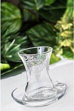 110 ml 6-tlg. Tee-/Kaffeeglas-Set Trotter