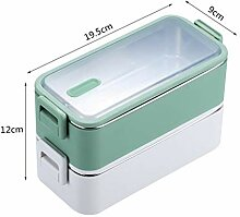 1100ml Double Layer Edelstahl 304 Lunch Box