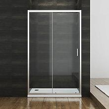 110cm Duschkabine Schiebetür Duschtür